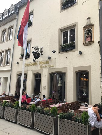 Chocolate house luxembourg city restaurant reviews for Luxembourg house