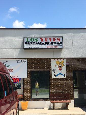 Salisbury, MD: Los Yeyes Taqueria