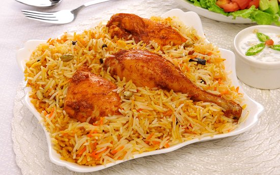 This Is Real Chicken Kabsa Picture Of Alrouche Lebanese Restaurant Brighton Tripadvisor