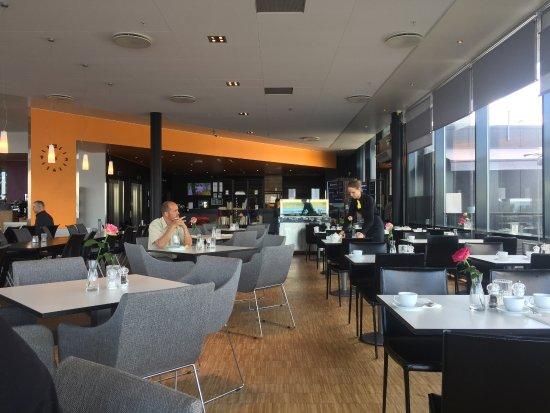 Thon Hotel Kirkenes: Nice dining area