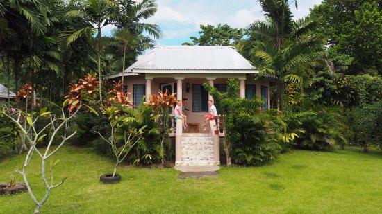 Talanoa Fales Accommodations: Our beautiful fale