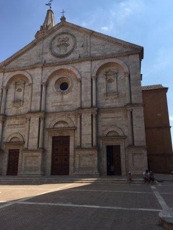 Pienza, Włochy: vista da catedral