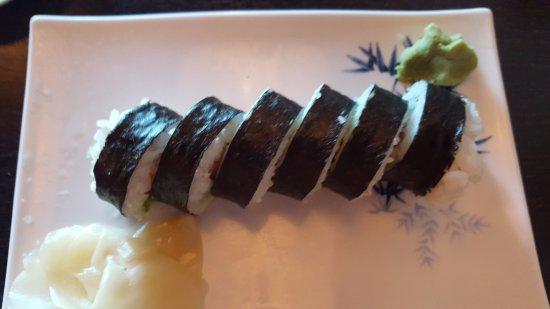 Kohnami Restaurant: The California Rolls.