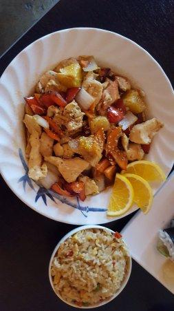 Kohnami Restaurant: Orange chicken