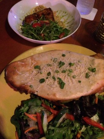 Rowdy Joe's: Mahi dish and Turkey Pot Pie!