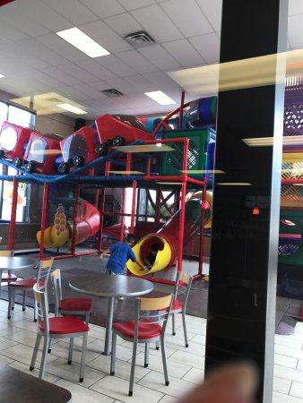 Burger King: inside play area
