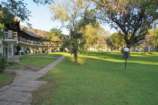 A'Zambezi River Lodge : Grounds of part of the hotel