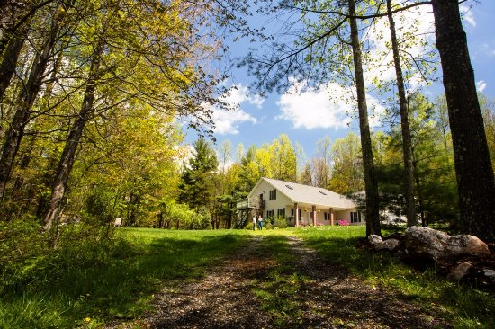 Enjoy life on a farm located EXACTLY at MP 152 on the Blue Ridge Parkway in Floyd, VA
