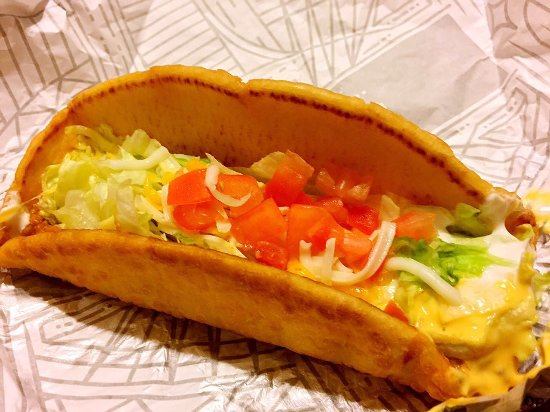 Moreno Valley, CA: Taco Bell 9 Cold Chalupa