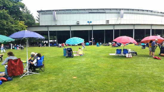 Lenox, MA: Relaxing on the Lawn Prior to the Concert