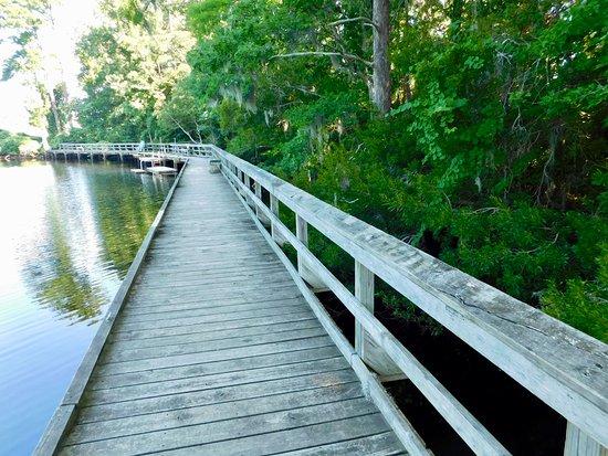 New Bern, Carolina del Norte: The dock