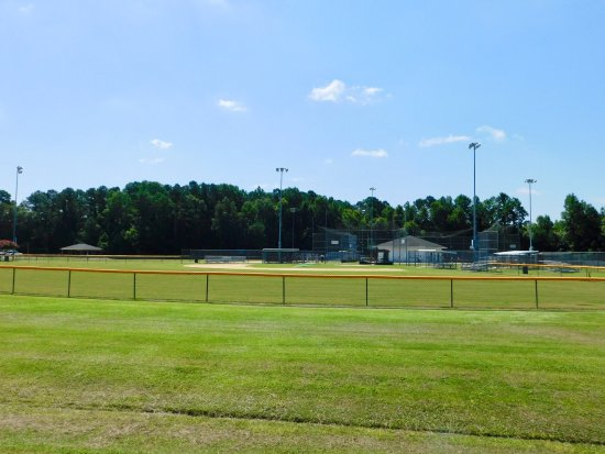New Bern, NC: One of the ball fields