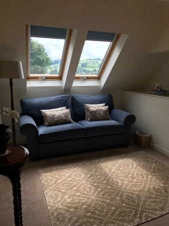 Yetholm, UK: Mill Suite sitting room