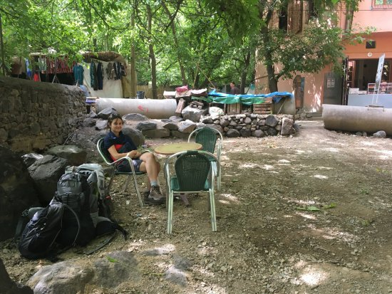 Trekking Morocco Mountains: Ready to have 'Berber Whisky' in Imlil