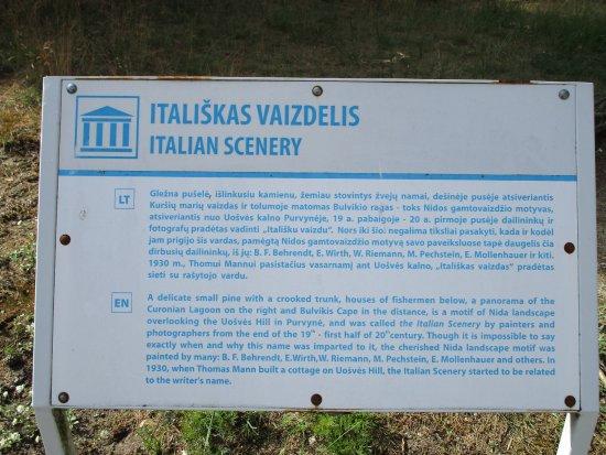 Nida, Lithuania: Italian scenery info