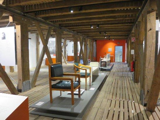 Alfeld (Leine), Tyskland: Ausstellung zum Bauhaus-Stil
