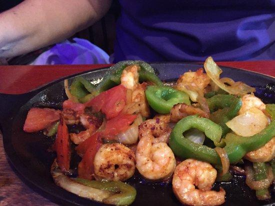 Beverly Hills, Floride : Shrimp fajitas