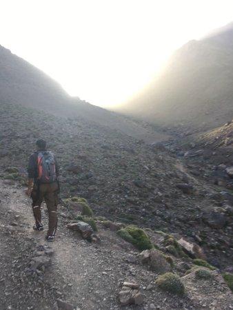 Imlil, Marokko: Early morning hike towards 3200m