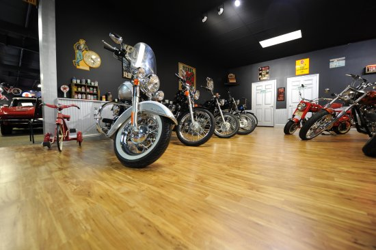 Eatonton, GA: Mixture of gorgeous motorcycles