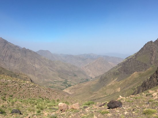 Imlil, Maroko: Tacheddirt valley, view from 3200m