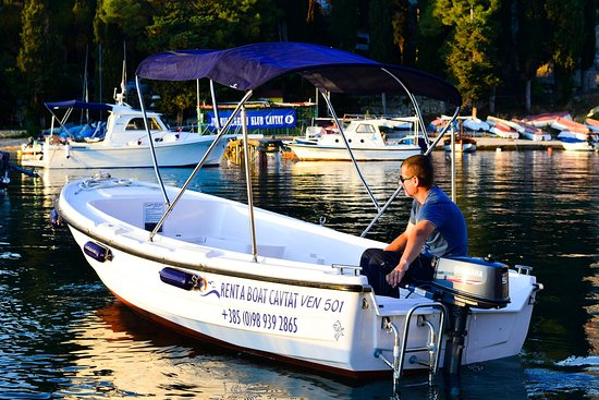 Цавтат, Хорватия: Boat to rent to enjoy hidden beaches of Cavtat