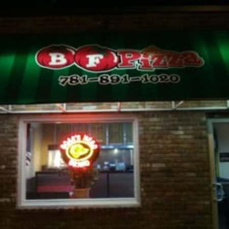 Waltham, MA: Front of restaurant