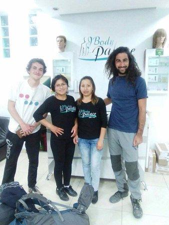 Gracias alos clientes Alemanes por la visita a Body Palace