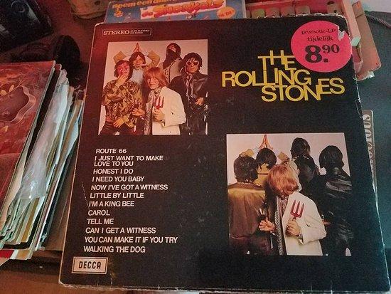 Rolling Stones vinyl in Johnny Jukebox - Picture of