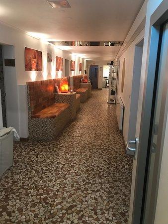 Babenhausen, Deutschland: Zimmer Amazonas Wasserbett, Whirlpool im Zimmer und privater Sauna. Großzügige Dusche. Top Servi