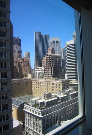 The St. Regis San Francisco: View from Room #1610