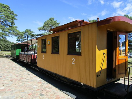 Ventspils, Látvia: Make sure you get a seat in an open carriage