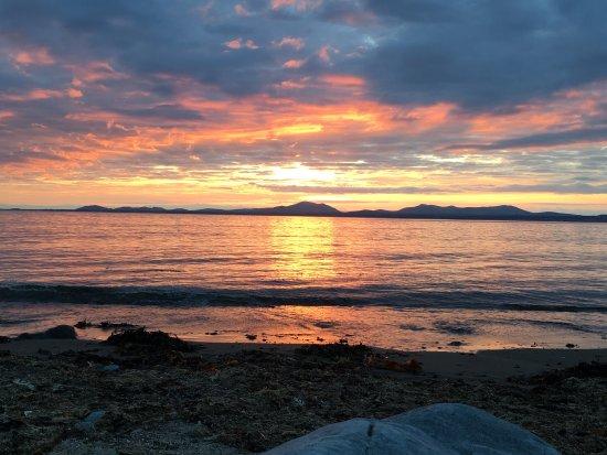 Llanbedr, UK: Sunset at the beach