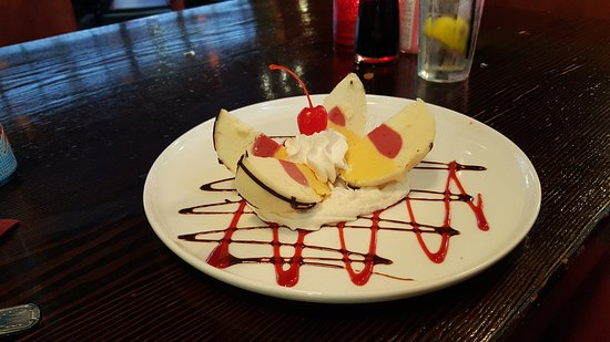 Rosedale, แมรี่แลนด์: Exotic Bomba dessert