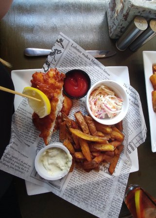 Fish and Chips dinner at 211 Main, Port Dover