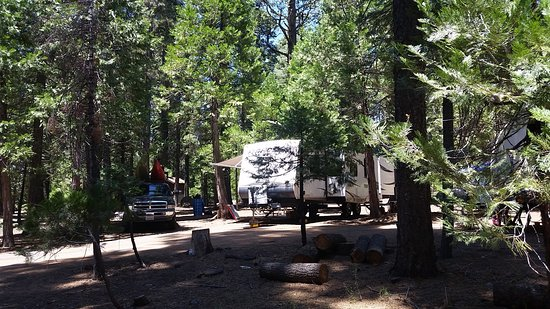 Pinecrest, CA: RV sites