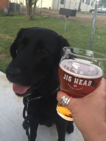 Cookeville, TN: We love the beautiful beer garden! And it's dog friendly!!