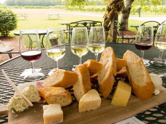 Penn Yan, NY: Wine & Cheeseboards Option 1