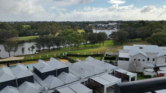Ascot, Australia: View from Room 510 over the Swan River