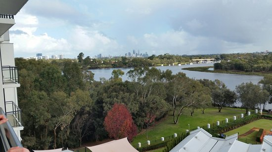 Ascot, Australia: View from Room 510 towards the CBD