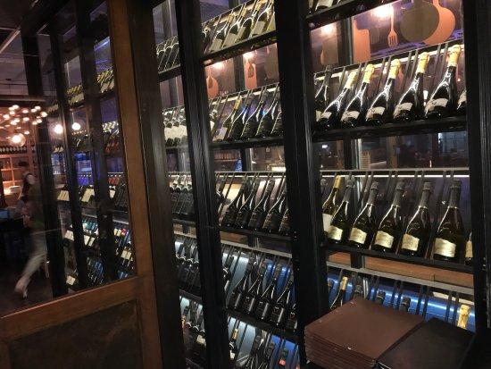 Azzurro wine cellar, fancy romantic