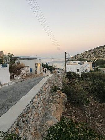 Agios Georgios, Griekenland: Απίστευτα θέα με φρέσκα ψάρια!