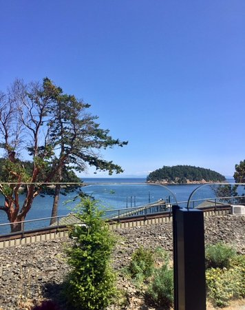 Mayne Island, Canada: This is what you are paying for . . .