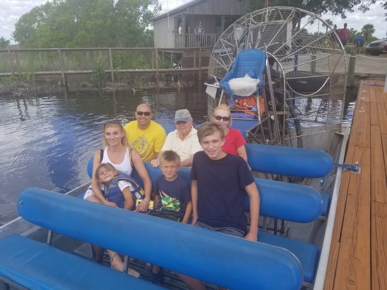 Capt Mitch's - Everglades Private Airboat Tours: 20170715_122408_large.jpg