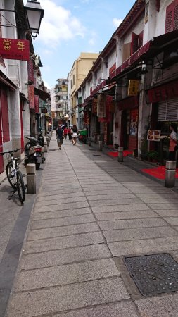 Rua da Felicidade: 沒什麼人的福隆新街