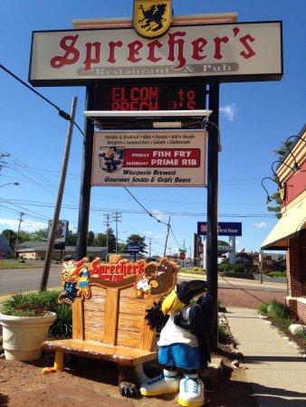 Sprecher S Restaurant And Pub Wisconsin Dells Wi