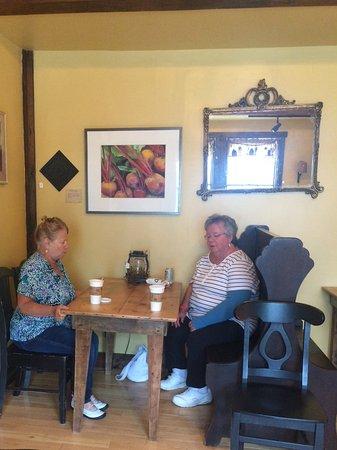 Fitzwilliam, Nueva Hampshire: The cafe
