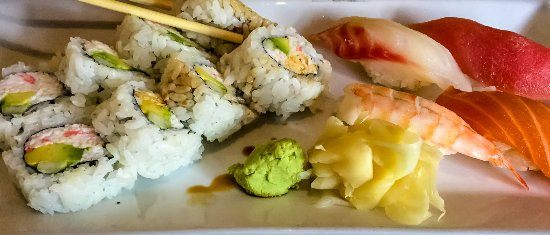 Aliso Viejo, Californië: Mixed Sushi Plate