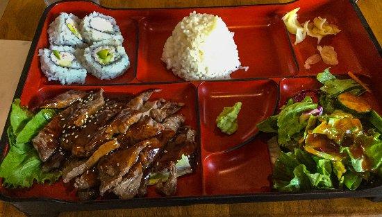 Aliso Viejo, CA: Beef Teriyaki Bento Box