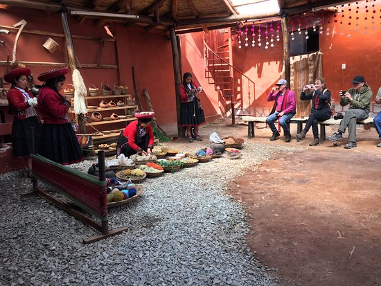 Chinchero, Perú: Factory Tour