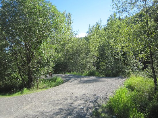 Greenwood, Kanada: Campsite at Boundary Creek